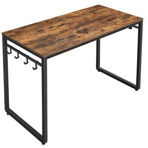 Psací stůl VASAGLE Luma hnědý