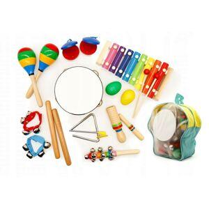 Sada 10 hudebních nástrojů pro děti ECOTOYS