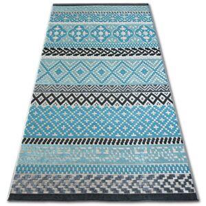 Kusový koberec LISBOA 27201/754 diamant tyrkysový