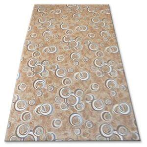 Kusový koberec DROPS Bubbles béžový