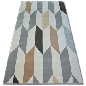Kusový koberec ARGENT - W4937 diamant krémový