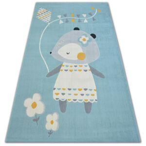 Kusový koberec PASTEL 18403/032 - myš modrý