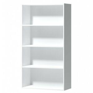 Knihovna Gato III 153 cm bílá