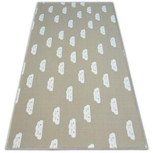 Detský koberec CLOUDS béžový