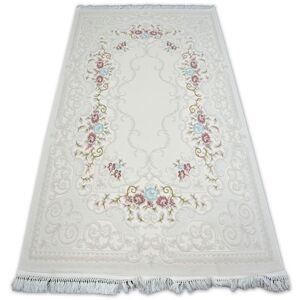 Kusový koberec AKRYLOVÝ MIRADA 5412 Krémový (Kemik) Fringe