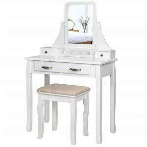 Toaletní stolek CLASSICAL bílý