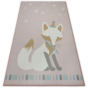 Kusový koberec LOKO Fox ružový