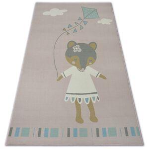 Kusový koberec LOKO Mouse ružový