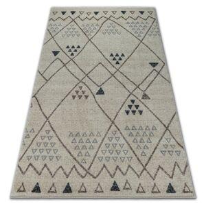 Kusový koberec SOFT HILL krémovo-béžový