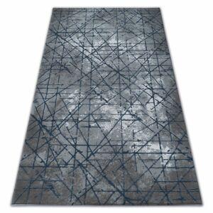 Kusový koberec AKRYLOVÝ VALENCIA 3949 modrý