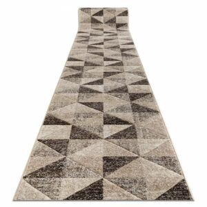 Behúň FEEL Triangle béžovo-hnedý