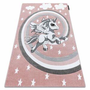 Kusový koberec PETIT PONY růžový