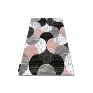 Kusový koberec ALTER Geo mušle ružový