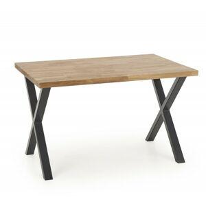 Jídelní stůl Apex 120x78 cm hnědý