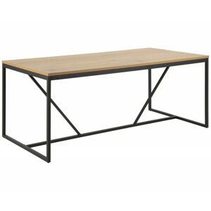 Jídelní stůl Seaford divoký dub/černá