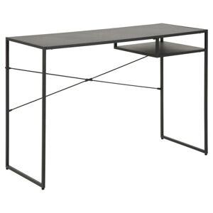 Psací stůl Newcastle matně černý