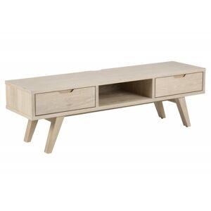 TV stolek A-line bělený dub