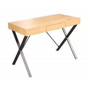 Psací stůl Studo dub/černý