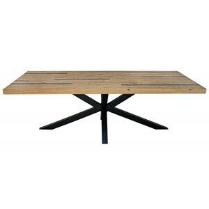 Dřevěný stůl Galaxie 240x110 cm hnědý