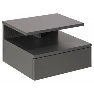 Noční stolek Ashlan světle šedá