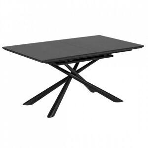 Rozkládací stůl Theone 160-210x90 cm černý