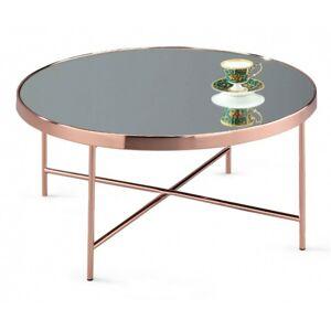 Kulatý konferenční stolek Elisa měděný