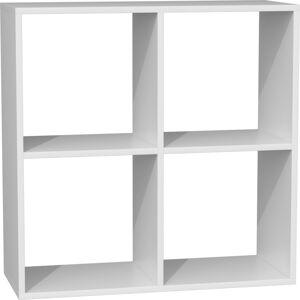 Knihovna Malax bílá