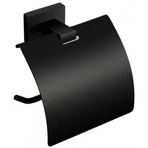Stojan na toaletní papír černý