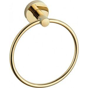 Věšák na ručníky MEXEN Ring zlatý