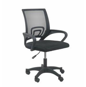Otočná židle MORIS - černá