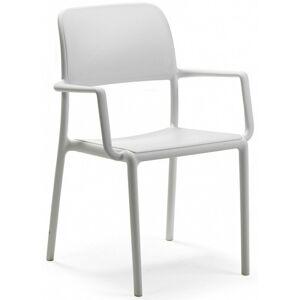 Zahradní židle Nardi Riva bílá