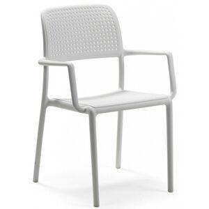 Zahradní židle Nardi Bora bílá