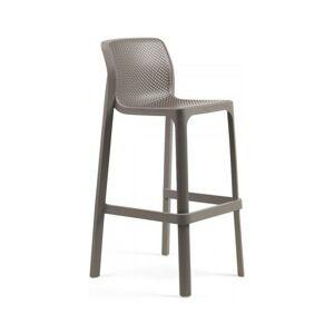 Zahradní barová židle Nardi Net I světlé hnědá