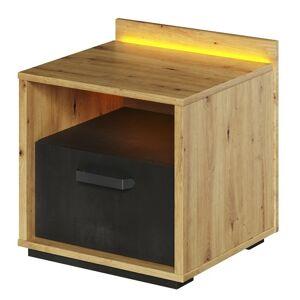 Noční stolek Qubic dub artisan