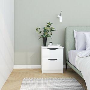 Noční stolek ALEXO 2S bílý