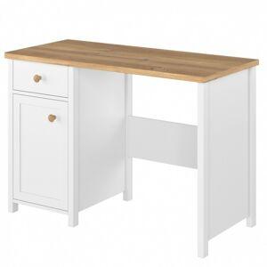 Psací stůl Story bílé/dub