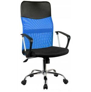 Otočná židle Nemo černo-modrá