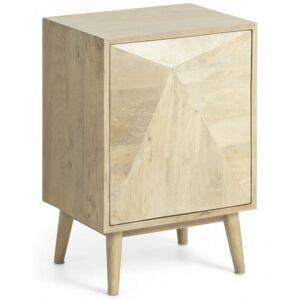 Noční stolek Sanvy hnědý