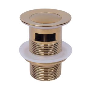 Výpusť click-clack malá s přepadem MEXEN 79925-50 zlatá