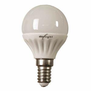 Žárovka LED 7W E14 G45- teplá