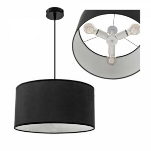 Stropní svítidlo Zora 36 cm černé/bílé