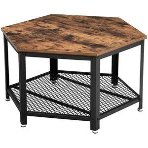 Konferenční stolek VASAGLE Lio hnědý