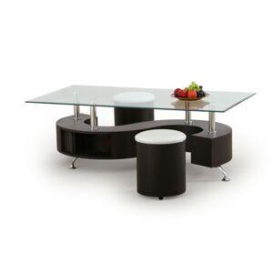 Konferenční stolek s taburety Linah wenge