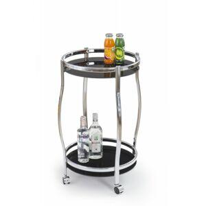 Kulatý barový stůl Arya černý