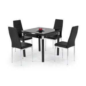 Rozkládací jídelní stůl Kent 2 černý