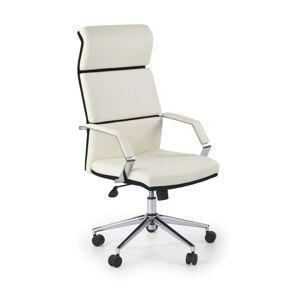 Kancelářská židle Corra bílo-černá