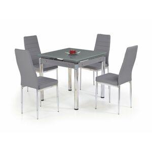 Rozkládací jídelní stůl Kent šedý