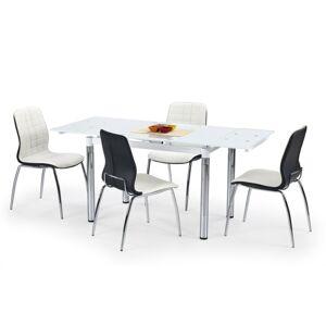 Rozkládací jídelní stůl Travis bílý