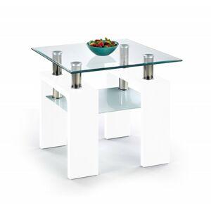 Konfereční stolek Diana H Kwadrat bílý