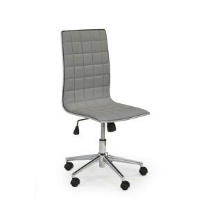 Kancelářká židle Rolo šedá